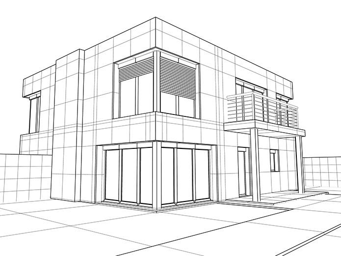 Haus Zeichnen 3d 3d Haus Zeichnen Beautiful Optische Tuschungen Unmgliche . Haus  Zeichnen 3d ...